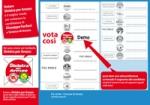 Partecipa anche tu, vota Demo