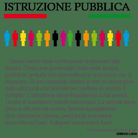 l'istruzione pubblica in Italia